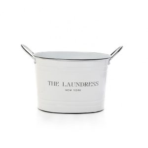 Large Bucket in White