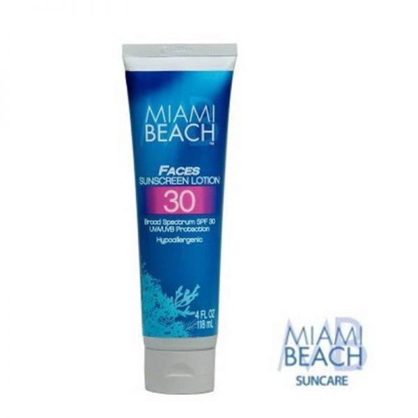 Miami Beach - Faces sunscreen lotion spf 30 118 ml